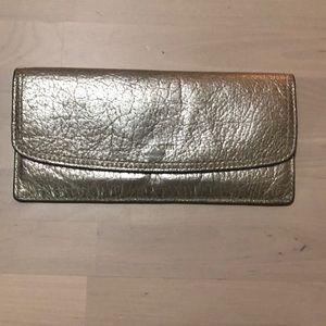 Coach Metallic Wallet
